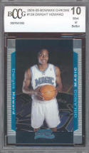2004-05 bowman chrome #129 DWIGHT HOWARD rookie BGS BCCG 10