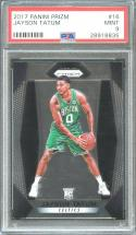 2017-18 panini prizm #16 JAYSON TATUM boston celtics rookie card PSA 9