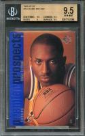 1996-97 sp #134 KOBE BRYANT los angeles lakers rookie BGS 9.5 (9.5 9.5 9 9.5)