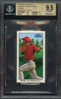 2010 tristar obak nc vip mini #n28a MIKE TROUT rookie BGS 9.5 (9.5 9 9.5 10)