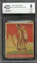 1947 indian gum #21 SQUAW AND CHILD BGS BCCG 6