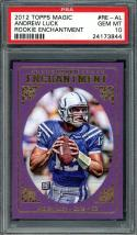 2012 topps magic rookie enchantment #re-al ANDREW LUCK colts rookie PSA 10