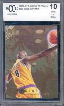1996-97 skybox premium #55 KOBE BRYANT los angeles lakers rookie BGS BCCG 10