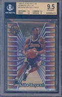 1996-97 stadium members only #52 KOBE BRYANT rookie BGS 9.5 (9.5 9.5 9.5 10)