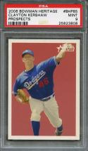2006 bowman heritage prospects #bhp85 CLAYTON KERSHAW dodgers rookie card PSA 9