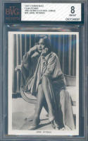 1937 carreras film stars 3rd series extra large #35 JANE WYMAN BGS BVG 8