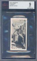 1937 carreras film stars a series #23 IDA LUPINO BGS BVG 9