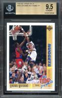 1991-92 upper deck #446 DIKEMBE MUTOMBO TP denver nuggets rookie card BGS 9.5