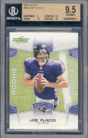2008 score #344 JOE FLACCO rc rookie BGS 9 9.5 10 10