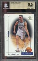 1998-99 sp authentic #99 DIRK NOWITZKI dallas mavericks rookie card BGS 9.5