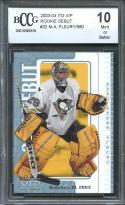 2003-04 itg vip rookie debut #32 MARC-ANDRE FLEURY knights rookie BGS BCCG 10