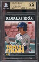 2010 topps pro debut baseball america's tott #tt27 MIKE TROUT rookie BGS 9.5