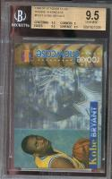 1996-97 stadium club rookie showcase #rs11 KOBE BRYANT BGS 9.5 (9.5 9 9.5 9.5)