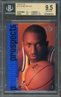 1996-97 sp #134 KOBE BRYANT los angeles lakers rookie BGS 9.5 (9.5 9 9.5 9.5)