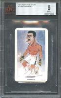 1979 world of sport #3 MUHAMMAD ALI boxing card BGS BVG 9