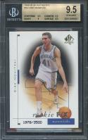 1998-99 sp authentic #99 DIRK NOWITZKI mavericks rookie BGS 9.5 (9.5 9.5 9 9.5)