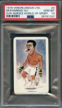 1979 venorlandus ltd our heroes world of sport #3 MUHAMMAD ALI boxing PSA 10