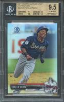 2017 bowman chrome draft refractors #bdc39 RONALD ACUNA BGS 9.5 (10 9.5 9.5 9.5)