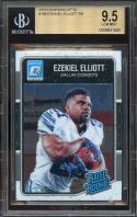 2016 donruss optic #168 EZEKIEL ELLIOTT dallas cowboys rookie card BGS 9.5