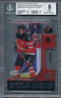 2015-16 upper deck ice wj championship #wjcm CONNOR MCDAVID oilers rookie BGS 9