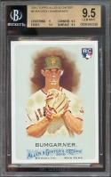 2010 topps allen n ginter #6 MADISON BUMGARNER rookie BGS 9.5 (9 9.5 9.5 9.5)