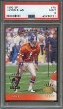 1993 sp #75 JASON ELAM denver broncos rookie card PSA 9